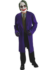 The Dark Knight Joker Costume Teen Boys