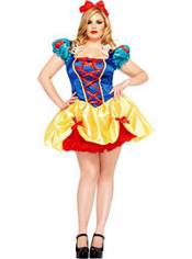 Plus Size Seductive Snow White Costume Adult