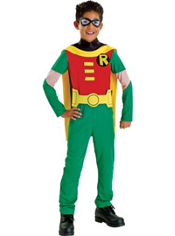 Teen Titans Robin Costume Boys