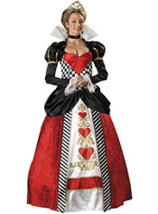Queen of Hearts Costume Adult Elite