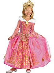 Princess Aurora Costume Girls Prestige