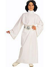 Star Wars Princess Leia Costume Girls Deluxe
