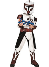 Star Wars Commander Fox Costume Boys Deluxe