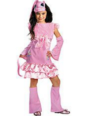 My Little Pony Pinkie Pie Costume Girls Deluxe