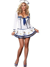 Plus Size Makin' Waves Sailor Costume Adult