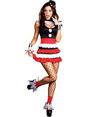 Sexy Cirque Circus Clown Costume Adult