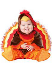 Lil Turkey Costume Baby Deluxe