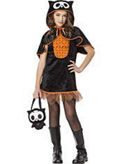 Skelanimals Oliver the Owl Costume Girls
