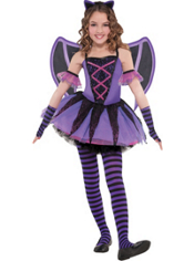 Girls Bat Ballerina Costume