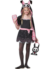 Jack the Rabbit Skelanimals Costume Girls