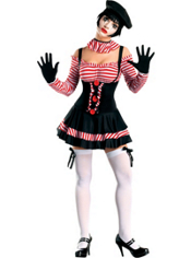 Sexy Mime Costume Adult