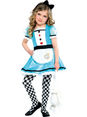 Toddler Girls Teacup Alice Costume