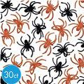 Black and Orange Spider Rings 30ct