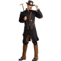 Steampunk Gentleman Costume Adult