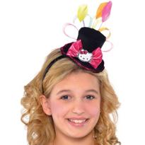 Hello Kitty Top Hat Fascinator