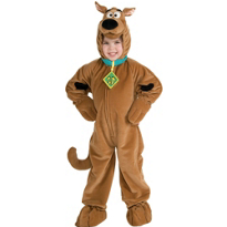 Scooby-Doo Costume Toddler Boys Deluxe