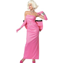 Pink Marilyn Monroe Costume Adults