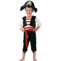 Pint Size Pirate Costume Toddler Boys